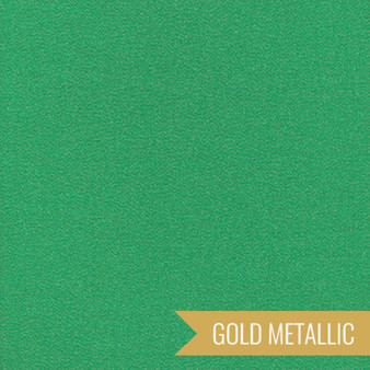 CLOUD 9, GLIMMER SOLIDS in Emerald Metallic,  100% ORGANIC Cotton - by the half-meter, ELEGANTE VIRGULE CANADA, CANADIAN FABRIC SHOP, Quilting Cotton, Organic Fabric