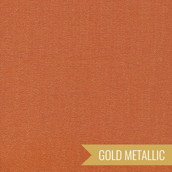 CLOUD 9, GLIMMER SOLIDS in Copper Metallic,  100% ORGANIC Cotton - by the half-meter, ELEGANTE VIRGULE CANADA, CANADIAN FABRIC SHOP, Quilting Cotton, Organic Fabric
