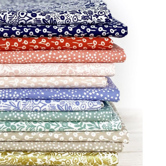 RIFLE PAPER CO Basics - Bundle of 13 Fabrics,  ELEGANTE VIRGULE CANADA, CANADIAN FABRIC SHOP, Quilting Cotton