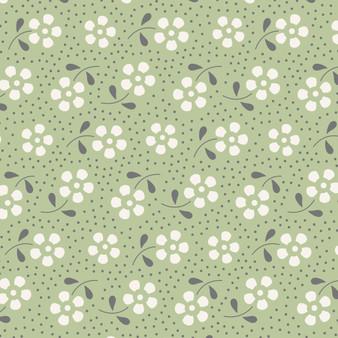 TILDA Meadow in Pine, 100% Cotton. TILDA BASICS, Elegante Virgule Canada, Canadian Quilt Shop, Quilting Cotton