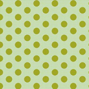 TILDA Medium Dots in Green, 100% Cotton. TILDA BASICS, Elegante Virgule Canada, Canadian Fabric Quilt Shop, Quilting Cotton