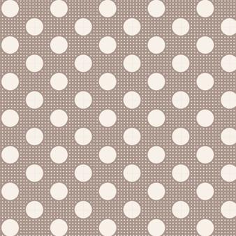 TILDA Medium Dots in Grey, 100% Cotton. TILDA BASICS, Elegante Virgule Canada, Canadian Fabric Quilt Shop, Quilting Cotton