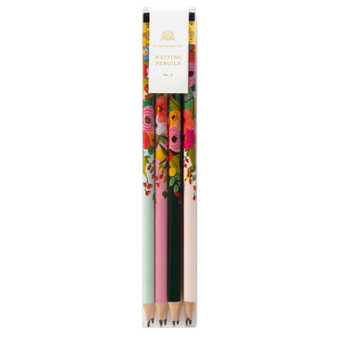 Garden Party Pencil Set - RIFLE PAPER CO Stationery. Set of 12 - ELEGANTE VIRGULE CANADA, Canadian Gift, Fabric and Quilt Shop.