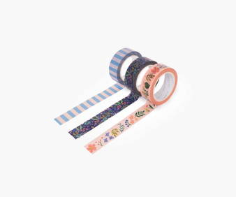Tapestry Paper Tape - RIFLE PAPER CO Stationery. Set of 6 - ELEGANTE VIRGULE CANADA, Canadian Gift, Fabric and Quilt Shop.