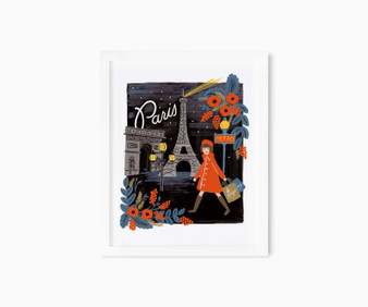 "Travel Paris - RIFLE PAPER CO, Art Print 8"" x 10"" - ELEGANTE VIRGULE CANADA, Canadian Gift, Fabric and Quilt Shop."