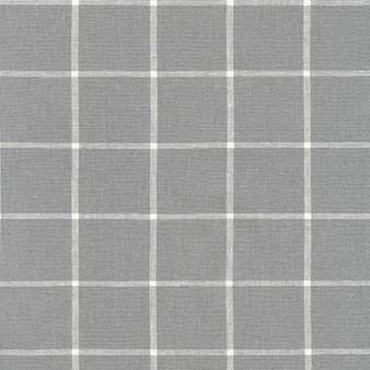ROBERT KAUFMAN  Essex Yarn Dyed Classic Wovens -GRID in Steel - 55% LINEN, 45% COTTON - by the half-meter - ROBERT KAUFMAN  Essex GRID INDIGO - 55% LINEN, 45% COTTON - by the half-meter
