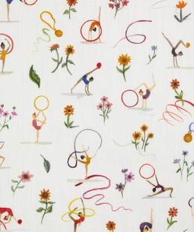 LIBERTY OF LONDON - RIBBON TWIRL A in White 100% Cotton Tana Lawn, Per Half-Meter. CANADIAN SHOP. LIBERTY IN CANADA, Elegante Virgule, Quilting Shop
