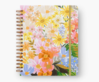 2022 17-month Marguerite Large Planner - RIFLE PAPER CO Stationery Planner - ELEGANTE VIRGULE CANADA, Canadian Gift, Fabric and Quilt Shop.
