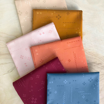 AGF DECOSTITCH, Autumn Morning - FQ Bundle of 6 fabrics, ELEGANTE VIRGULE CANADA, Canadian Fabric Quilt Shop, Quilting Cotton, ART GALLERY FABRICS Blender