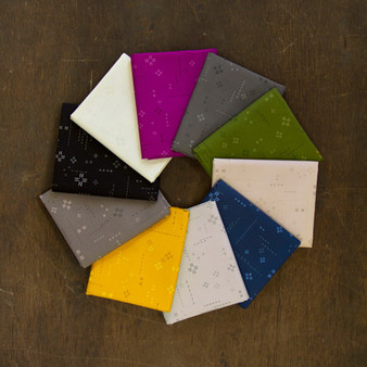 AGF DECOSTITCH, Shadowberry Bundle of 10 fabrics, ELEGANTE VIRGULE CANADA, Canadian Fabric Quilt Shop, Quilting Cotton, ART GALLERY FABRICS Blender