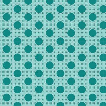 TILDA Medium Dots Dark Teal, 100% Cotton. TILDA BASICS, Elegante Virgule Canada, Canadian Quilt Shop, Quilting Cotton