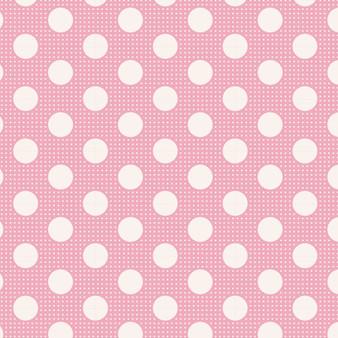 TILDA Medium Dots in Pink, 100% Cotton. TILDA BASICS, Elegante Virgule Canada, Canadian Fabric Quilt Shop, Quilting Cotton