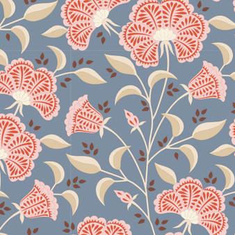 TILDA WINDY DAYS Stormy in Blue - Elegante Virgule Canada, Quilting Cotton, Montreal Quebec Quilt Shop