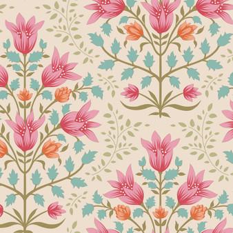 TILDA WINDY DAYS Breeze in Pink - Elegante Virgule Canada, Quilting Cotton, Montreal Quebec Quilt Shop