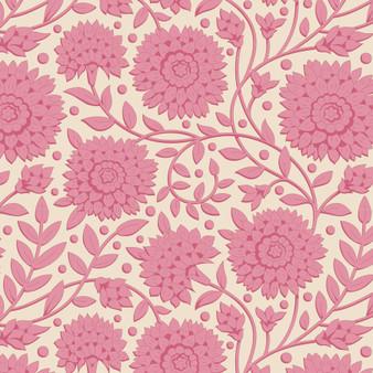 TILDA WINDY DAYS Aella in Pink - Elegante Virgule Canada, Quilting Cotton, Montreal Quebec Quilt Shop