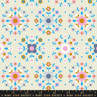 RUBY STAR SOCIETY, SMOL Folkometry in Shell - ELEGANTE VIRGULE CANADA, CANADIAN FABRIC SHOP, Quilting Cotton, Laval Montreal Quebec Quilt Shop