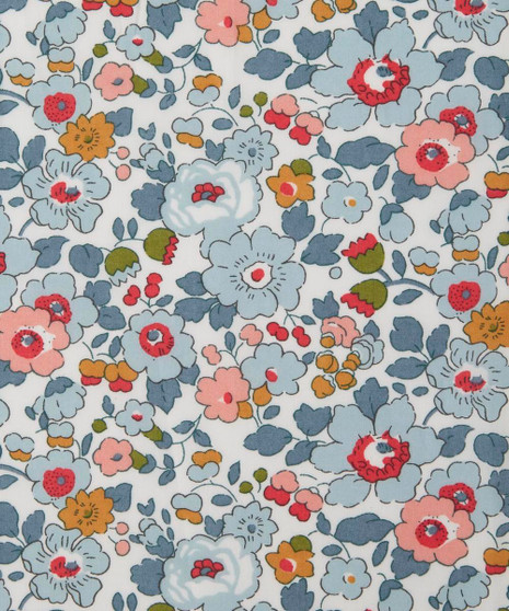 LIBERTY OF LONDON - BETSY P 100% Cotton Tana Lawn - Elegante Virgule Canada, Canadian Quilt Shop