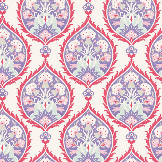 TILDA  BON VOYAGE, Flowerleaf in Blue, Elegante Virgule Canada