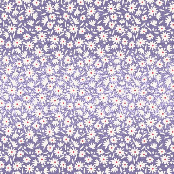 TILDA  BON VOYAGE, Paperflower in Blue, Elegante Virgule Canada
