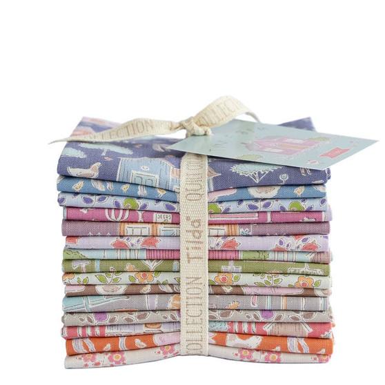 TILDA TINY FARM COLLECTION, Bundle of 15 fabrics - Elegante Virgule Canada