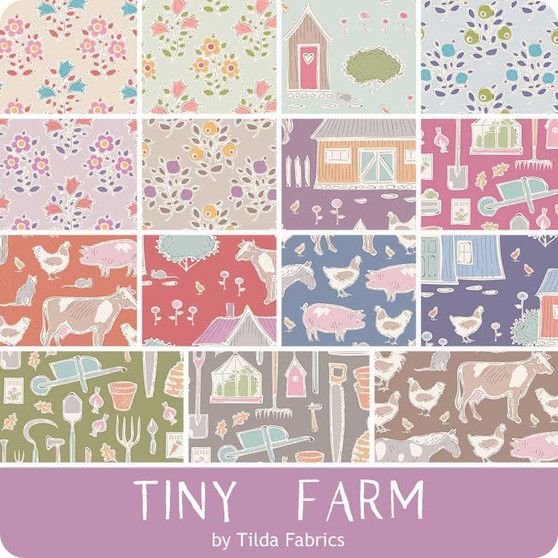 TILDA TINY FARM, Farm in Mist - Elegante Virgule Canada