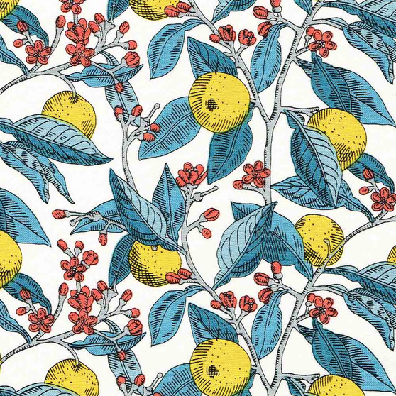 LIBERTY OF LONDON Quilting cotton, Conservatory in Yellow, ELEGANTE VIRGULE CANADA, Canadian Quilt Shop