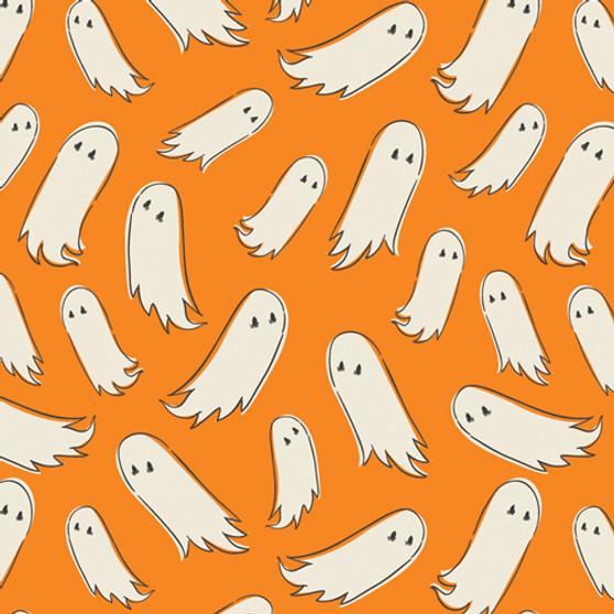 AGF ART GALLERY FABRIC - SPOOKY 'N SWEET, Pick-a-Boo - by the half-meter, ELEGANTE VIRGULE, Canadian Fabric Shop