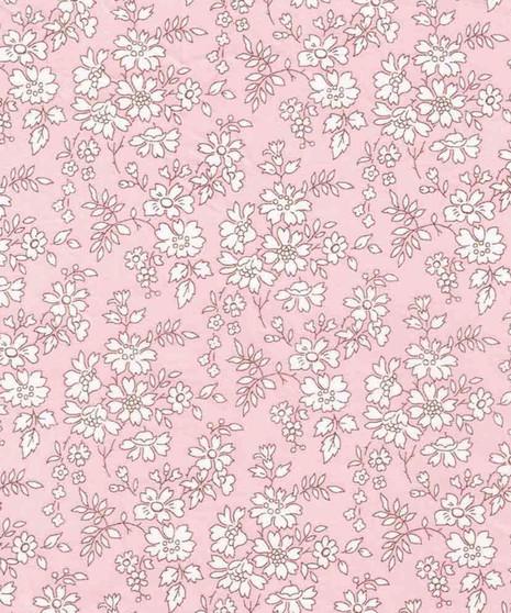 LIBERTY OF LONDON - CAPEL S Pink 100% Cotton Tana Lawn, Per Half-Meter, CANADIAN SHOP. LIBERTY IN CANADA, Elegante Virgule