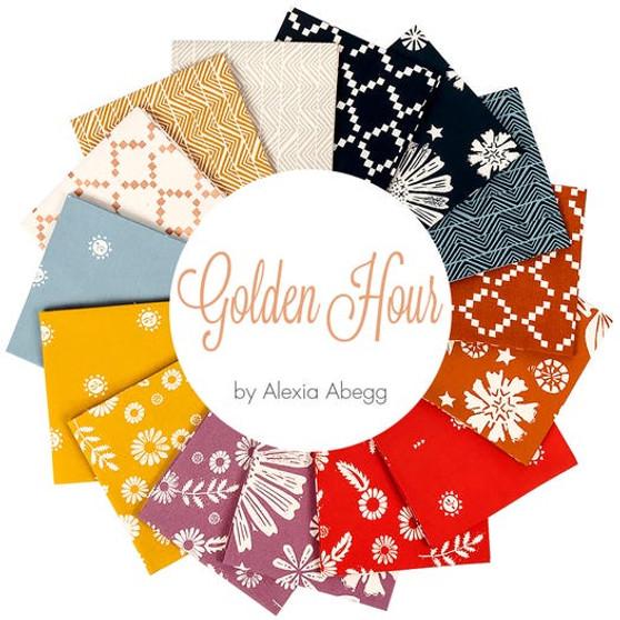 RUBY STAR SOCIETY, Golden Hour - FQ Bundle of 15 fabrics, ELEGANTE VIRGULE CANADA, CANADIAN FABRIC SHOP