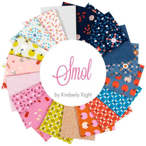 RUBY STAR SOCIETY, SMOL - FQ Bundle of 19 fabrics, ELEGANTE VIRGULE CANADA, CANADIAN FABRIC SHOP