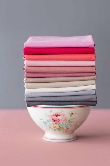 TILDA SOLIDS Rosewood - TILDA BASICS, ELEGANTE VIRGULE CANADA, Canadian Fabric Shop, Quilting Cotton