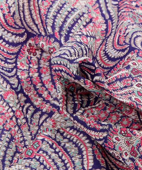 LIBERTY OF LONDON - OSCAR C Pink, 100% Cotton Tana Lawn, Per Half-Meter, CANADIAN SHOP. LIBERTY IN CANADA, Elegante Virgule, Quilting Shop