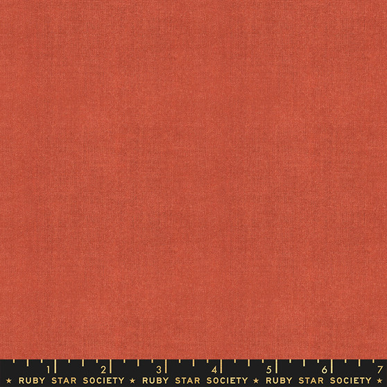 RUBY STAR SOCIETY, WARP & WEFT Wovens in Persimmon by Alexia Marcelle Abegg - ELEGANTE VIRGULE CANADA, CANADIAN FABRIC SHOP, QUILTING COTTON
