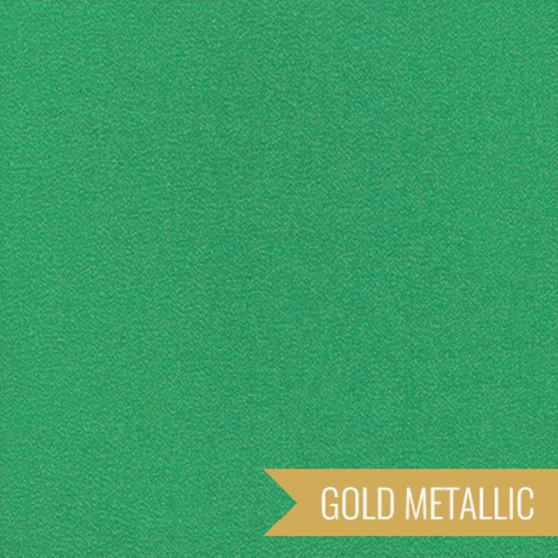 CLOUD 9, GLIMMER SOLIDS in Emerald Metallic,  100% ORGANIC Cotton - by the half-meter, ELEGANTE VIRGULE CANADA, CANADIAN FABRIC SHOP, Quilting Cotton, Organic Fabric