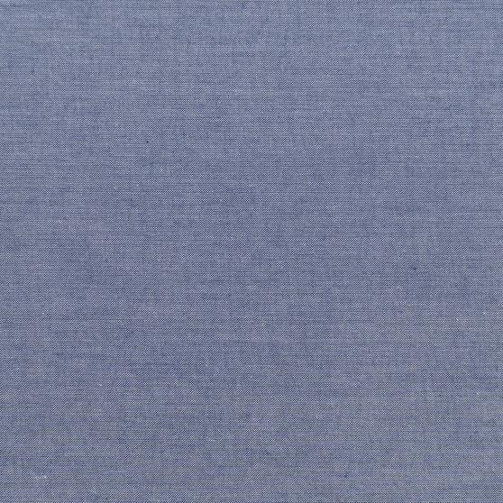 TILDA CHAMBRAY, Dark Blue - TILDA BASICS, ELEGANTE VIRGULE CANADA, Canadian Fabric Shop, Quilting Cotton