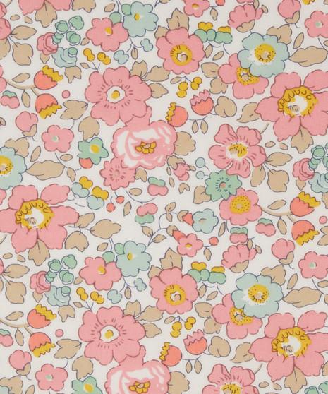 LIBERTY OF LONDON - BETSY B-40 Pink 100% Cotton Tana Lawn, ELEGANTE VIRGULE CANADA, Canadian Quilt Shop, Liberty Fabric