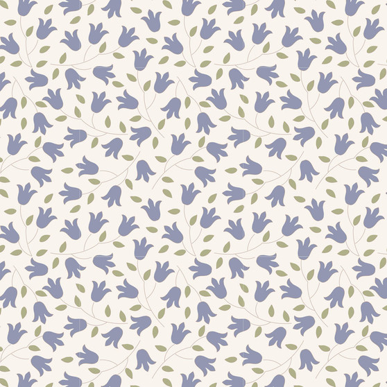 TILDA Sophie in Slate, 100% Cotton. TILDA BASICS, Elegante Virgule Canada, Canadian Quilt Shop, Quilting Cotton