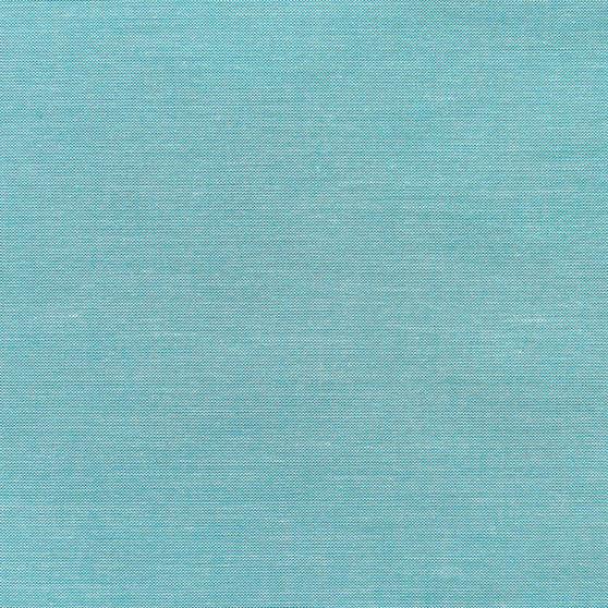 TILDA CHAMBRAY, Teal - TILDA BASICS, ELEGANTE VIRGULE CANADA, Canadian Fabric Shop, Quilting Cotton Fabrics