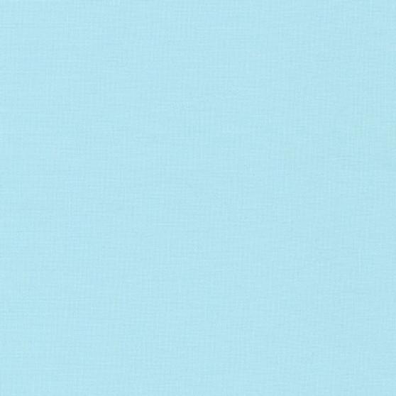 KONA Baby Blue - by the half-meter, ELEGANTE VIRGULE CANADA, Canadian Fabric Shop, Quilting cotton