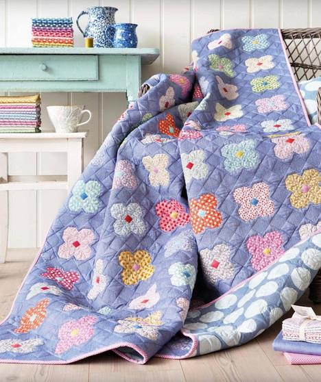 TILDA KIT, Buttercup Quilt, TILDA BASICS - Elegante Virgule Canada - Canadian Fabric shop, Quilting Cotton, Basic Quilt