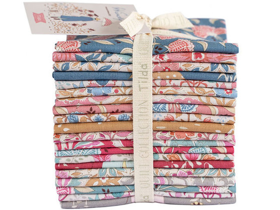 TILDA WINDY DAYS, FQ Bundle of 20 fabrics  - Elegante Virgule Canada, CANADIAN QUILT SHOP, Quilting Cotton