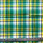 KIWI Madras 100% cotton, Width 60 inches (150 cm), Per Half-Meter. CANADIAN SHOP. Elegante Virgule Canada