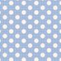 TILDA Medium Dots in Blue, 100% Cotton. TILDA BASICS, Elegante Virgule Canada