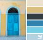 BLUE GARDEN,  RIFLE PAPER CO x TILDA - Bundle of 8 Fabrics - FQ or Half-Meter