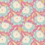 TILDA GARDENLIFE in Pink, Bowl Peony - Elegante Virgule Canada, Quilting Cotton