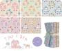 TILDA TINY FARM COLLECTION, Bundle of 5 fabrics, Flowers and Berries - Elegante Virgule Canada