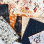 AGF ART GALLERY FABRIC - SPOOKY 'N SWEET, Cast a Spell - by the half-meter, ELEGANTE VIRGULE, Canadian Fabric Shop