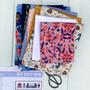 "GET COZY MINI in Rifle Paper Co - Quilt Kit 12"" x 36"" (30 x 90 cm) - Elegante Virgule, Canadian Fabric Shop"