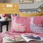 TILDA KIT, Swimming Geese Long Pillow, MAPLE FARM - Elegante Virgule Canada - Canadian Fabric shop