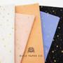 RIFLE PAPER CO, PRIMAVERA Stars in Periwinkle Metallic,  ELEGANTE VIRGULE, CANADIAN FABRIC SHOP
